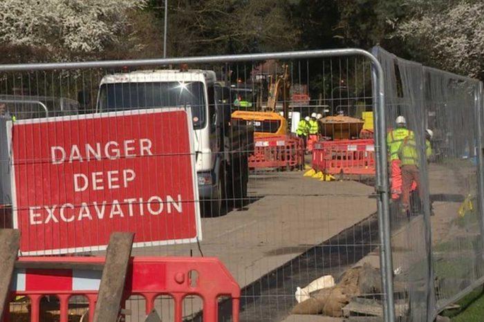 £10m flood defence scheme being built in Norwich