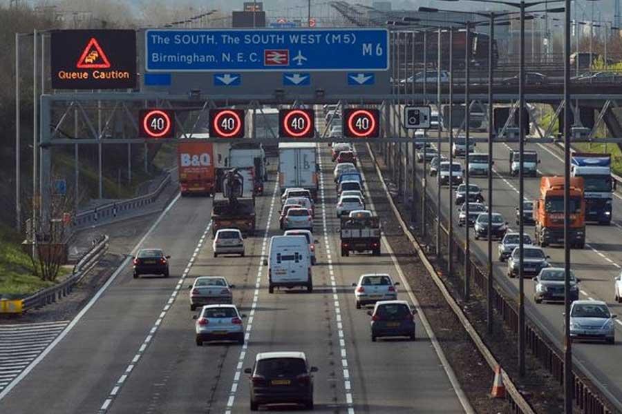 M6-Birmingham-Roadworks
