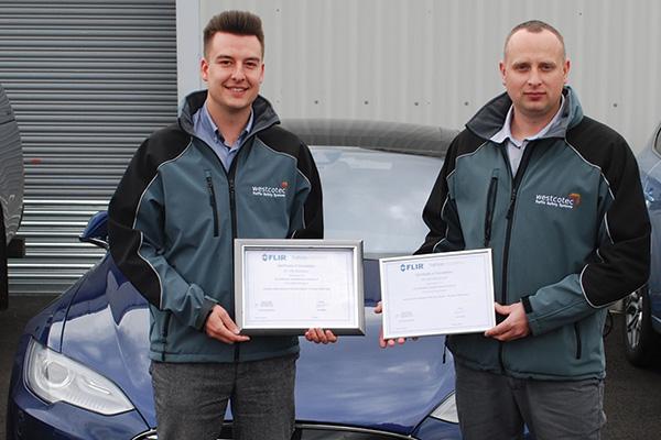 Westcotec-Olly-Dom-FLIR-Certificates