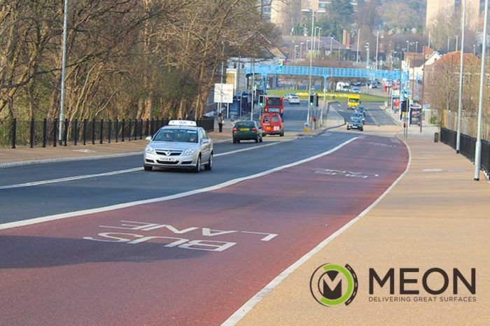 MEON | Colourful Surface Markings Becoming More Popular On British Roads