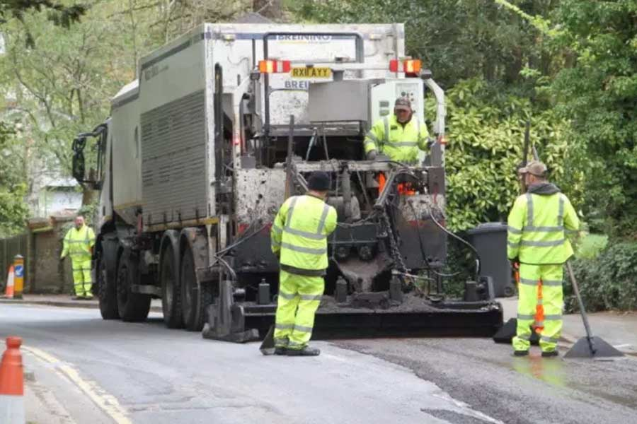 Hertfordshire County Council is giving hundreds of the county's most weather-worn residential roads a new lease of life.........