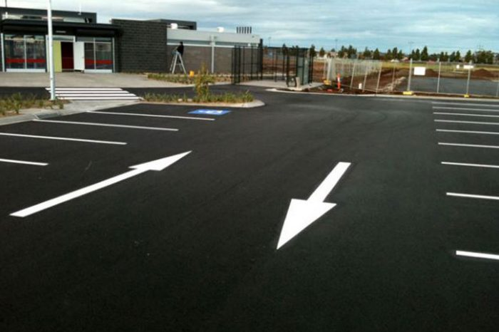 ASI Solutions | RHiNOPHALT® Car Park Treatment & Marking Realignment