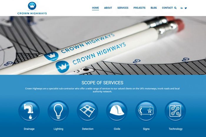 Crown Highways | New Website Launched