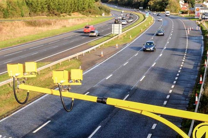 VIDEO | Almost 10,000 motorists caught by M32 speed cameras in just 2 months