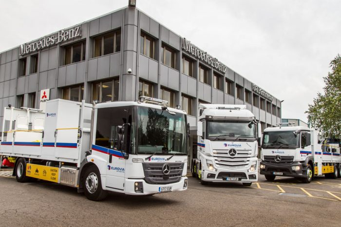 Eurovia | Mercedes-Benz Trucks Called up for Line of Duty