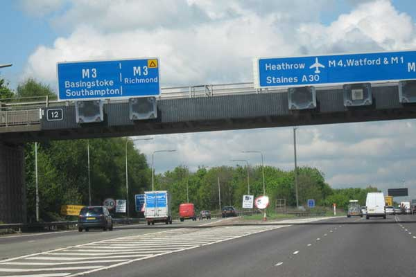 m25-m3-smart-motorway-slip-road