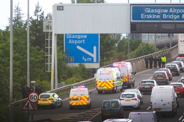 Barrier replacement to see stretch of Glasgow's M8 motorway close