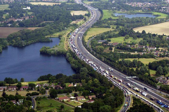 Nine million cars set to pack UK roads for end of term getaway