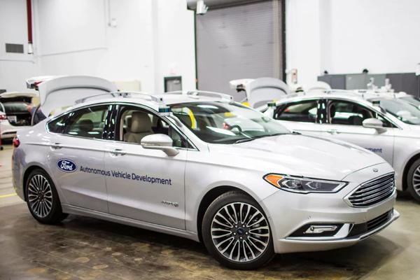 Autonomous-Ford