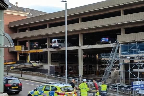 Car-park-collapse