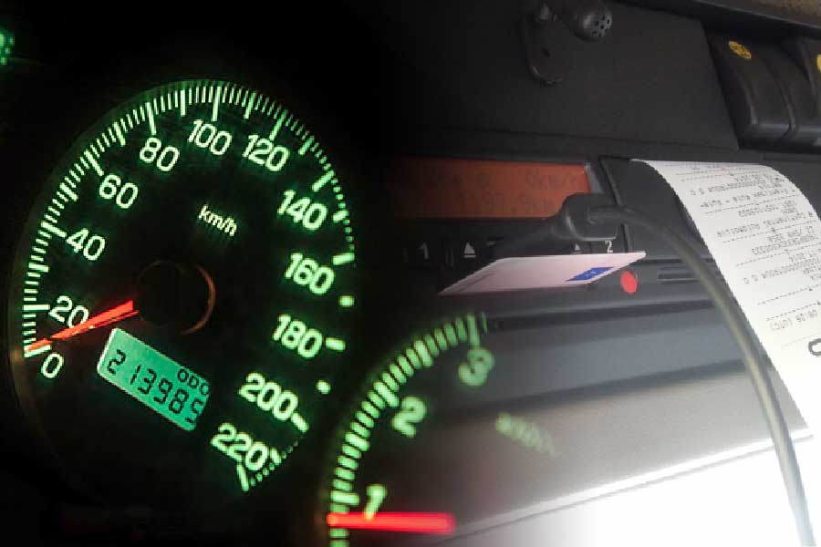 Lorry-Tachograph