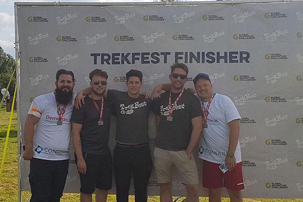 Trekfest-finisher