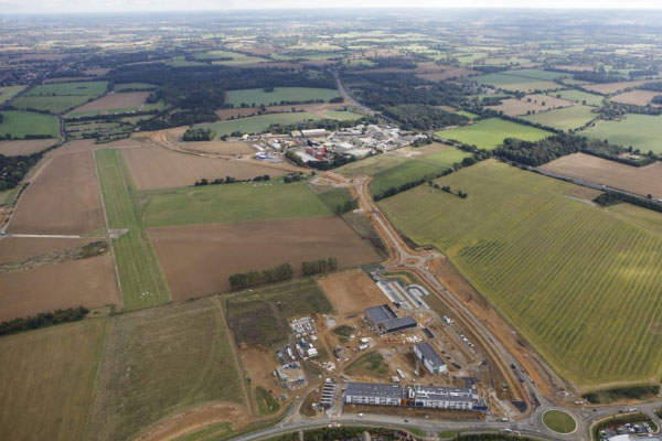 Bury St Edmunds Eastern Relief Road set to open