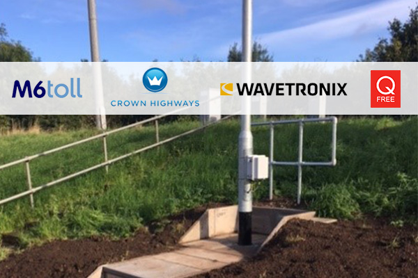 Crown Highways | First to install traffic counting Radar site