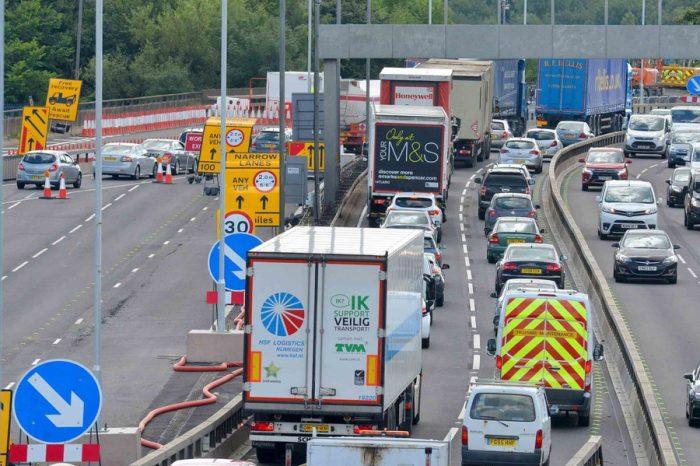 M5 roadworks: 24hr emergency breakdown patrols help during congestion chaos