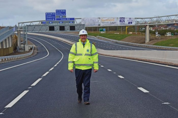 Scottish motorways project wins top award