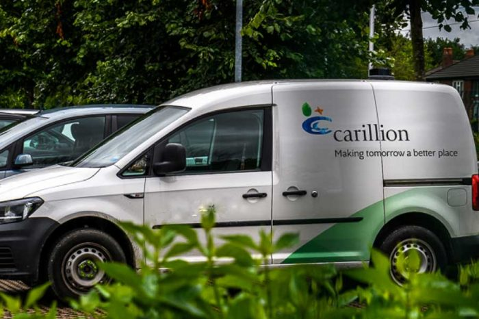 Carillion shares plummet after group warns on profits and says it will breach covenants