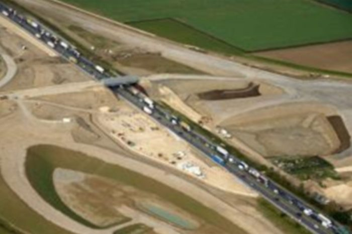 £1.5bn A14 Cambridge to Huntingdon upgrade marks its first year of construction