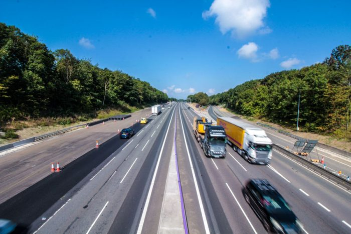 Good news for drivers as first phase of Midlands M1 smart motorway opens