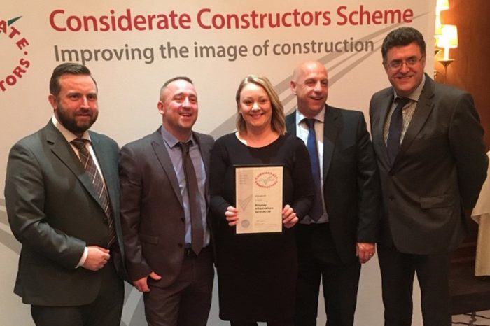 Ringway | Considerate Constructors win at Bletchley