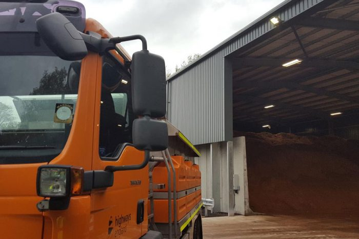 New £1.5 million salt barn to help keep roads moving this winter