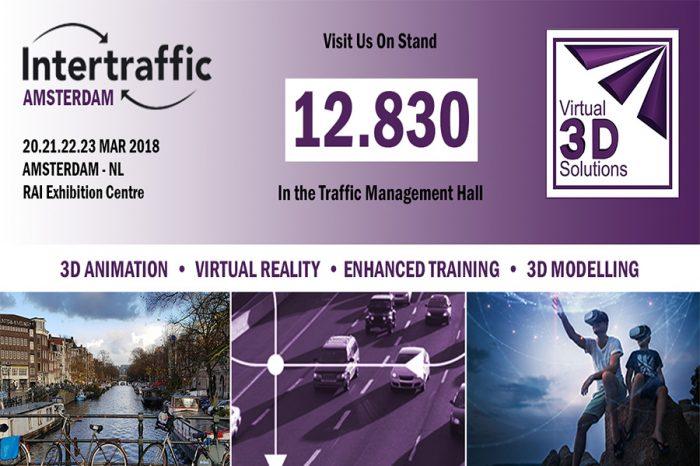 Virtual 3D Solutions | Exhibiting at Intertraffic 2018