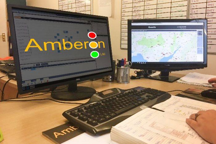Amberon TM | Utilising Syrinx Mobile Worker App