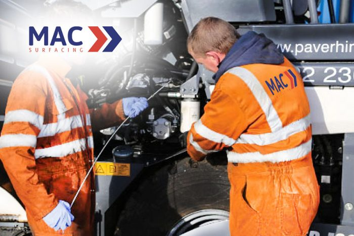 MAC Surfacing | Workshop and Maintenance division is up and running
