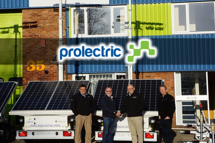Prolectric | BooBoo Plant Hire Spreads Sunshine with Solar Trailer Lighting Fleet