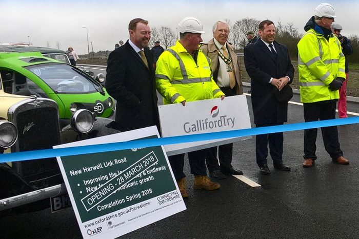 One job finishes and another starts for Galliford Try Highways