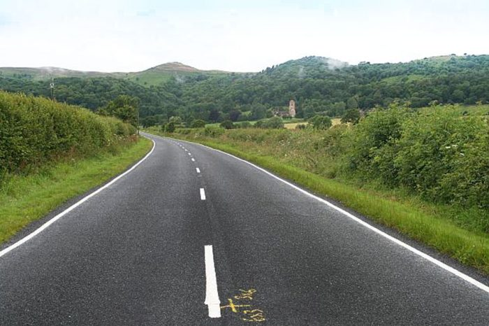 Road markings are 'not working' in some rural areas