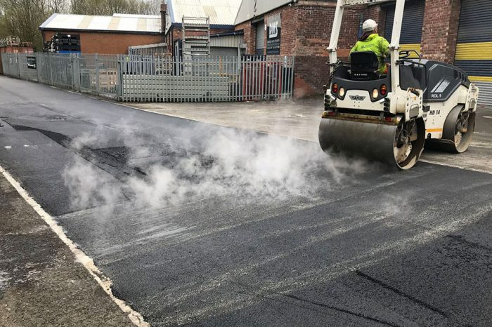 ADJ Surfacing | Revolutionising Shepley Industrial Estate