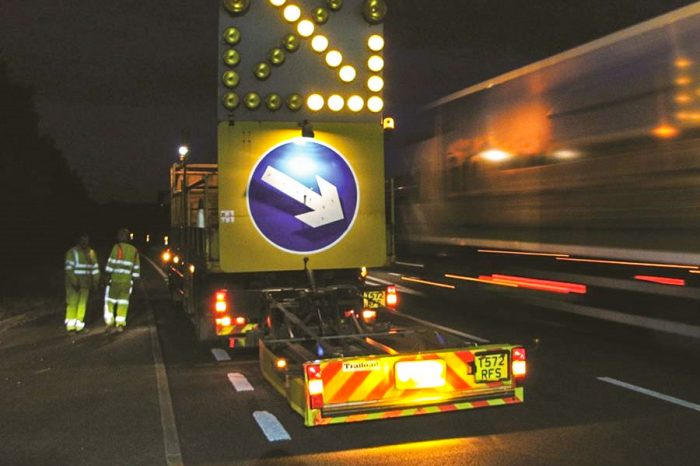 Thousands of road workers' lives are being put at risk, says Highways England