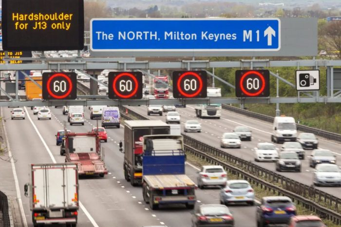 Review ordered of smart motorway speed limits after record fines are handed out