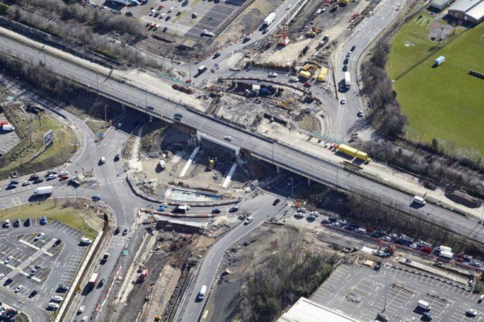 Triple decker junction enters final stage