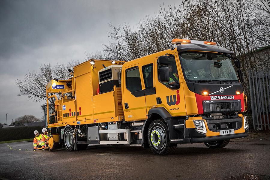 WJ | Delivering Road Markings on Highways England Eastern Region Framework