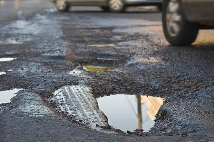 Pothole damage could cost you up almost two months of an average UK salary