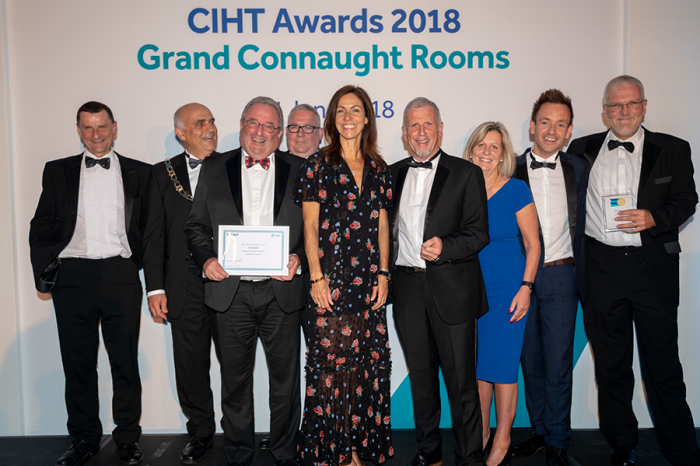 Ringway | Worcestershire Highways wins Collaboration Award at CIHT Awards 2018