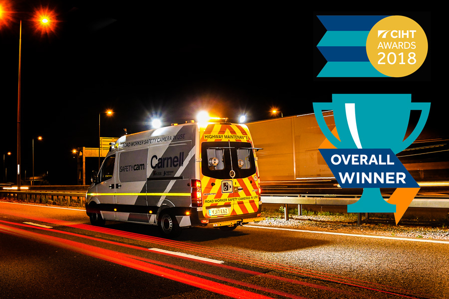 SafetyCam | Revolution in road worker safety collects major accolade