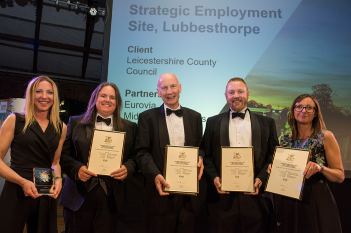 Eurovia Contracting | Celebrating two Institution of Civil Engineering Awards