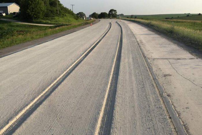 Around the globe | Driver travels through new concrete road