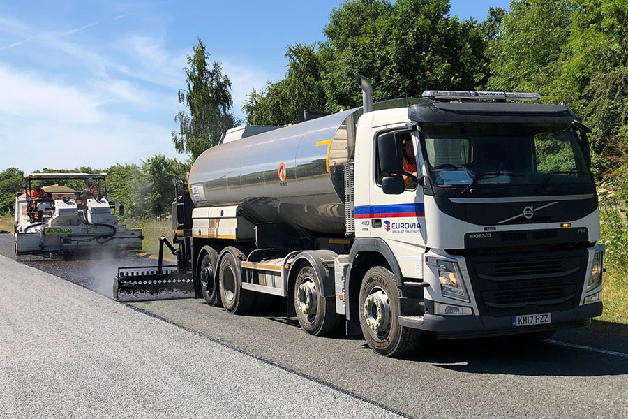 Eurovia Specialist Treatments | Carrying out record-breaking surface dressing scheme in North Yorkshire