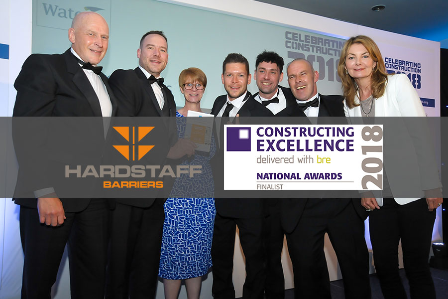 Hardstaff Barriers | 2018 Constructing Excellence National Awards Finalists