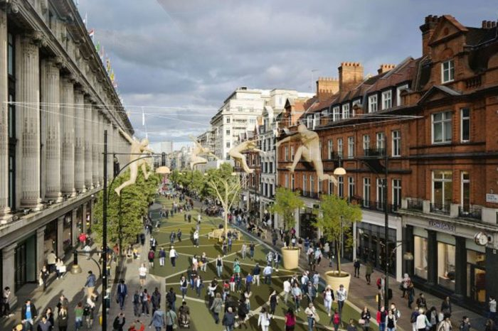 Westminster Council reveals £727,000 plans for Oxford Street