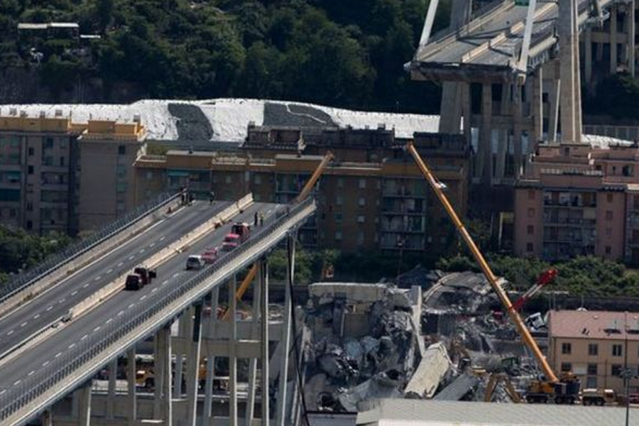 Highways England has moved to reassure motorists following the Genoa bridge tragedy……..