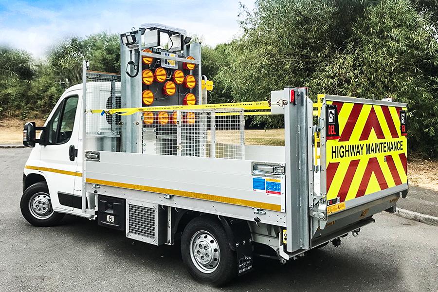 Highway Care | Supplying first height adjustable Mini Light Arrow!