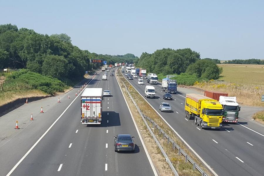 Smart motorway work set to increase M62 capacity by a third