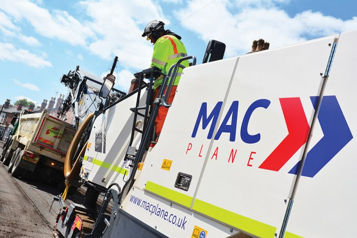 MAC Surfacing | There's nothing plain about this planing division