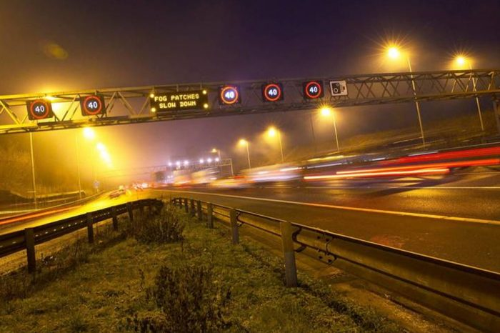 "Almost a quarter of drivers feel ""anxious"" on the UK's motorway network"