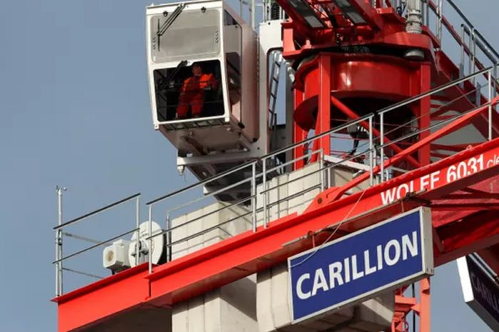 Carillion collapse likely to cost taxpayers more than £150m